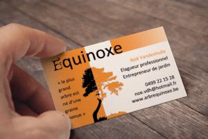 Equinoxe : carte de visite
